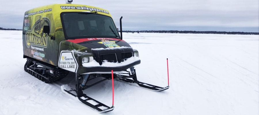 Walleye Dan SnoBear Ice Fishing Vehicle