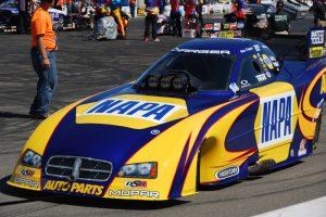 the NAPA car at brainerd international raceway