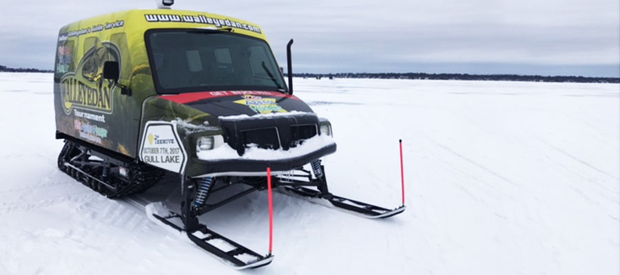 Walleye Dan SnoBear Ice Fishing Vehicle