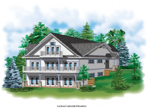 Rendering of New Cottage Rental